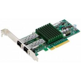 Scheda di rete ethernet 2 porte 10Gigabit SFP+, Intel 82599ES