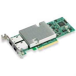 Scheda Ethernet 2 Porte RJ45 10Gigabit, Intel X540.